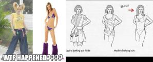 fashion evolution